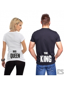 THE KING, HIS QUEEN
