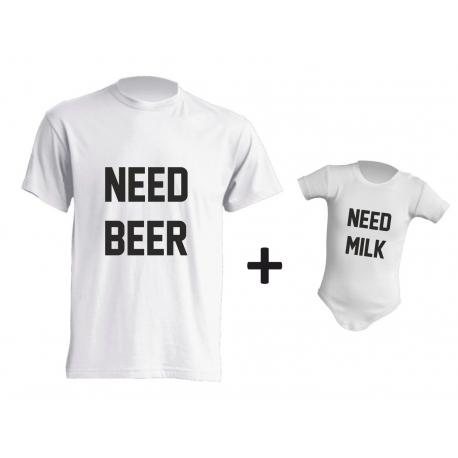 I NEED BEER & MILK
